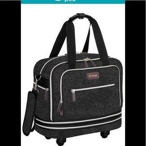 Biaggi underseat zipsack rolling luggage
